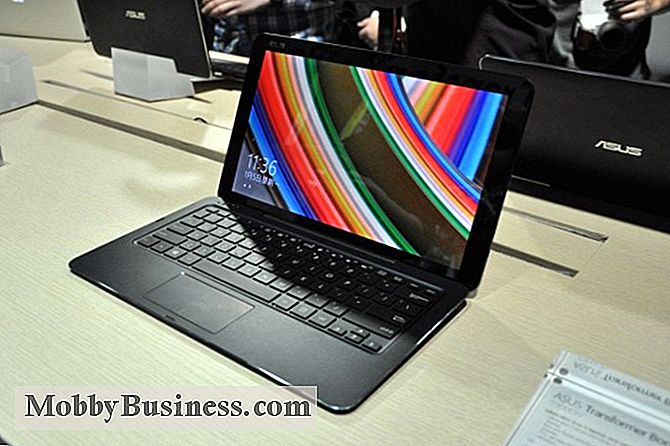 ASUS Transformer Book Chi T300 Hands-On: Er det godt for erhvervslivet?