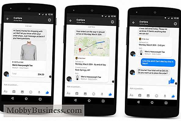 Facebook lanserar Messenger for Business