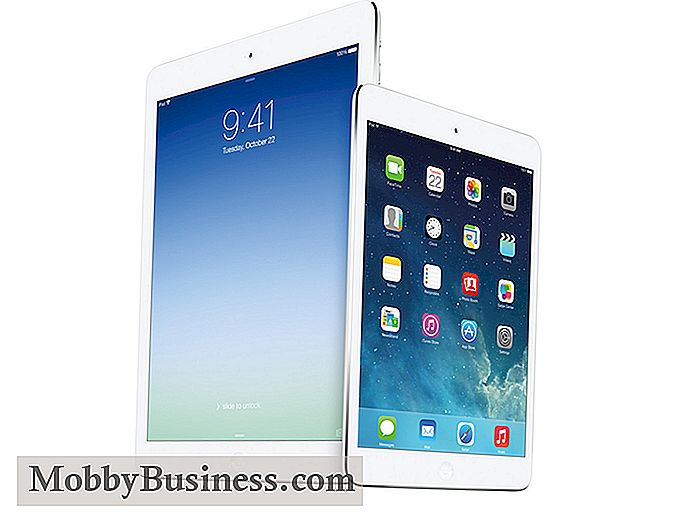 IPad Air vs. iPad Mini mit Retina Display: Welches ist das beste Business?