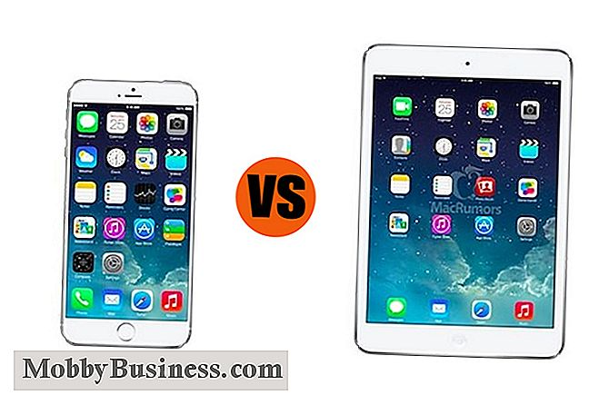 IPhone 6 Plus contro iPad Mini con display Retina: quale è il migliore per il business?