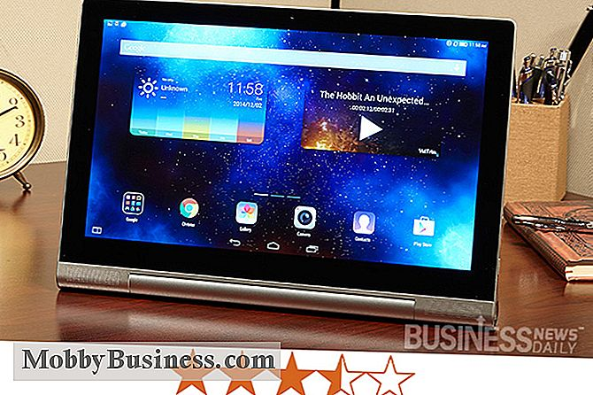 Lenovo Yoga Tablet 2 Pro Review: Er det bra for bedrifter?