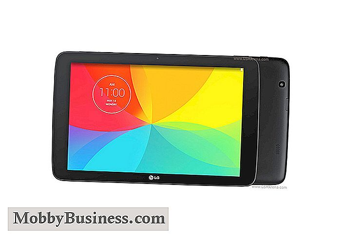 LG G-Pad 10.1: Top 5 Business-Funktionen