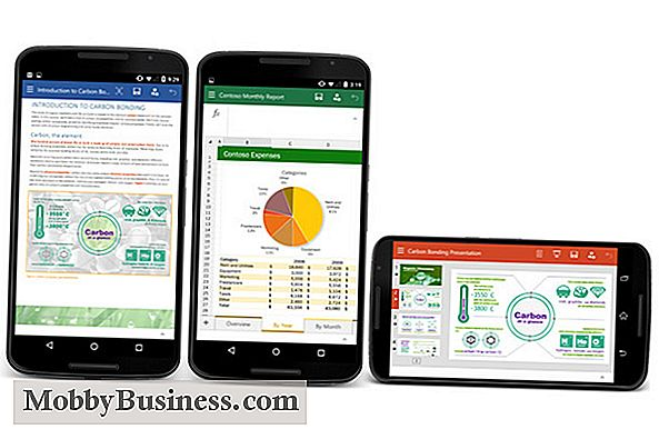 Microsoft Office for Smartphones (Android) Recenze: Je to dobré pro firmu?