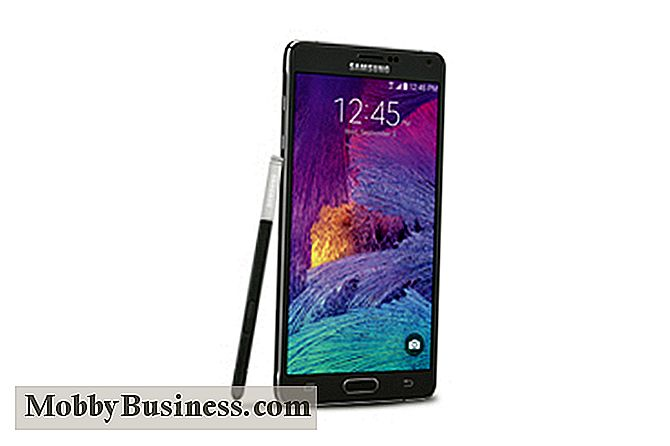Samsung Galaxy Note 4: Top 5 Forretningsfunktioner