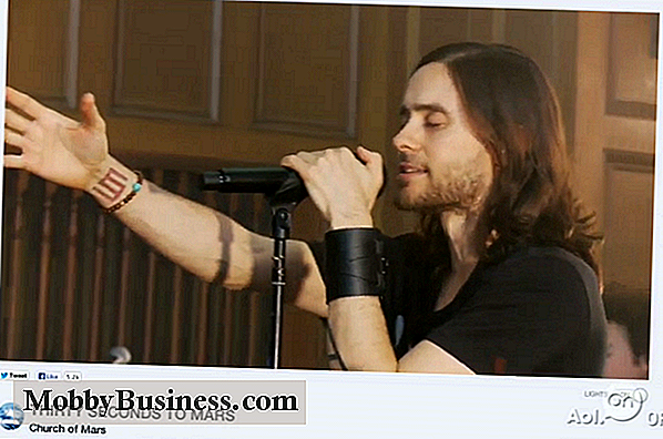 En ny webcastingoplevelse: Jared Leto lancerer Live Streaming Service