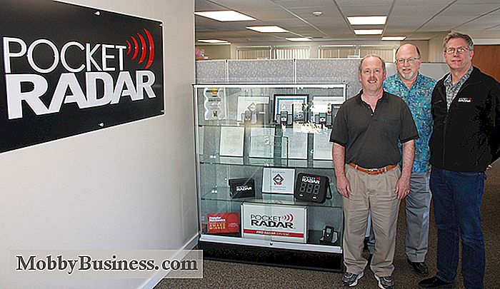Small Business Snapshot: Pocket Radar Inc.