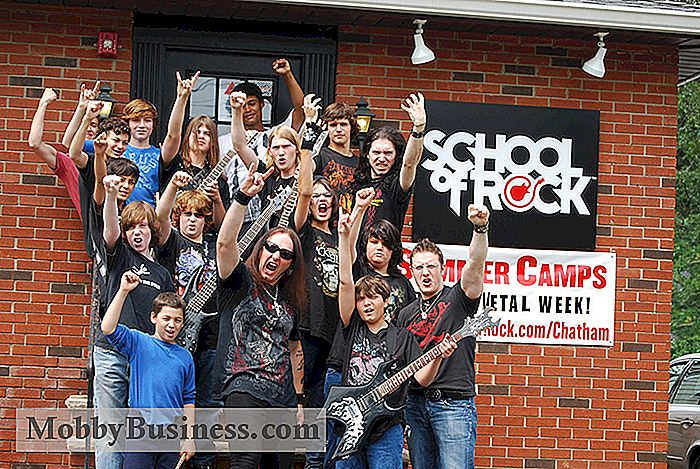 Small Business Snapshot: School of Rock