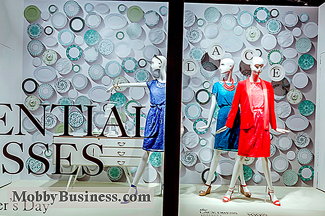 Urban Holiday setter Sparkle i New York City Windows